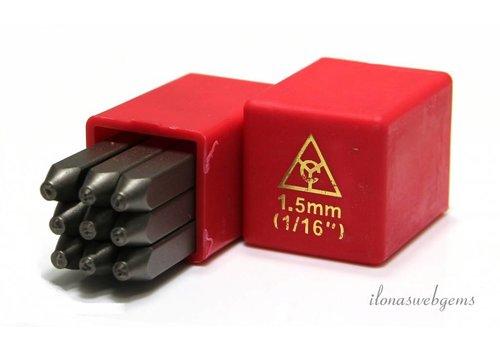 Stamp set Figures 1.5mm