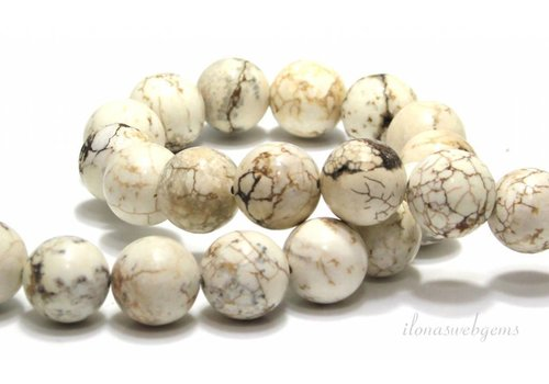 Howlite beads around 16mm
