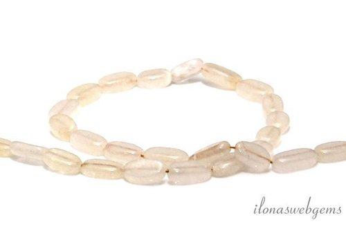 Aventurine beads around 12x6.5mm