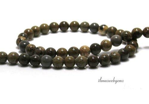 Artic Jasper beads around 8mm
