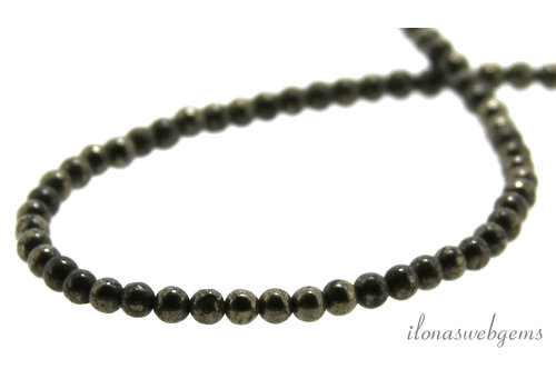 Pyrite beads around 4.5mm