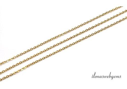 72 cm 14k/20 Gold filled schakels / ketting