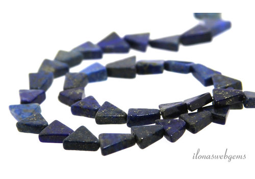 Lapis Lazuli triangels ca. 10mm 100% natural
