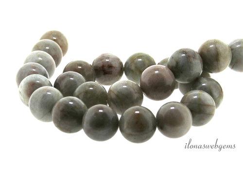Aquamarin Perlen um 18 mm