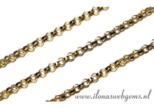 15.5cm Goldfilled Jasseron links / chain