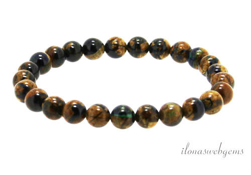 Azurite bracelet AA quality around 6mm