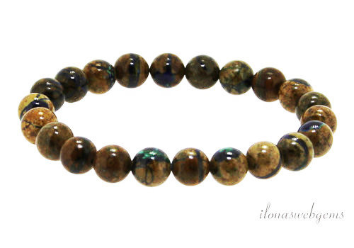 Azurite bracelet around 8mm AA quality
