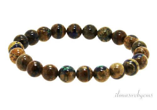 Azurite bracelet around 8mm AA quality
