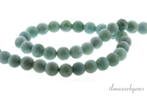 Larimar beads around 6mm
