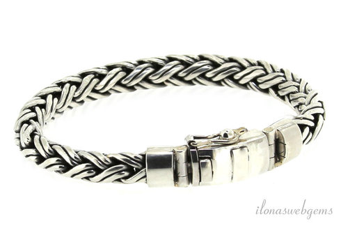 Sterling silver Buddha to Buddha style bracelet
