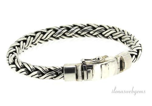 Sterling zilveren Buddha to Buddha style armband