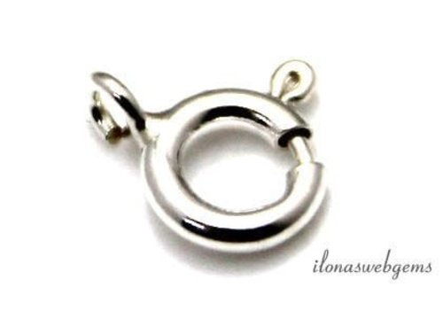 Silver filled spring ring around 5mm