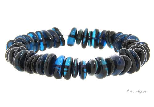 Amber bracelet nugget around 11x7x3mm
