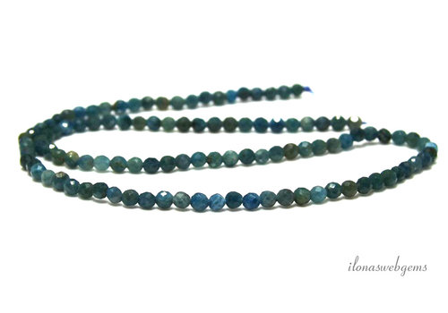 Apatite beads facet around approx 3.5mm