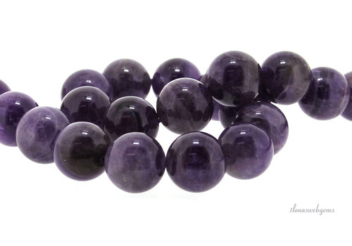 Amethyst beads around 16mm