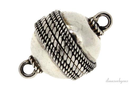 Sterling Silber Magnetverschluss um 12mm