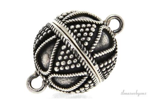Sterling silver magnet lock around 12mm