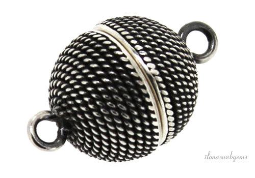 Sterling silver magnet lock around 10mm