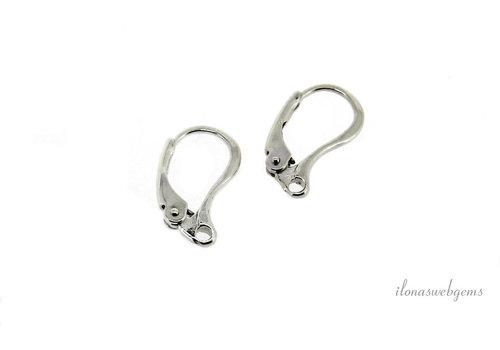 1 pair Sterling Silver oorhookjes
