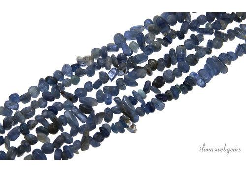 Kyanite beads split fine around 3-5mm