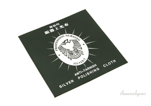 Mini silver cleaning cloth