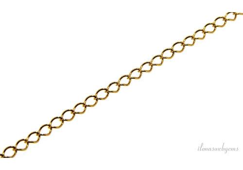 1 cm Vermeil links / chain (extension)
