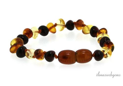 Amber / Amber bracelet around 6mm