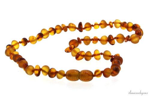 Amber / Amber children's necklace around 6mm