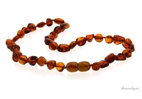 Amber / Amber children's necklace around 5mm