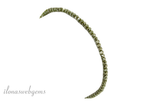 Armband Kristall Swarovski Stil um 2x3 mm