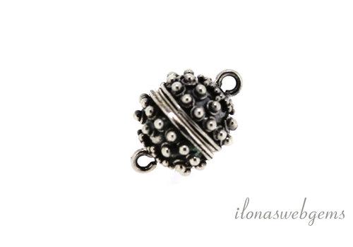 Sterling Silber Magnetverschluss um 10mm