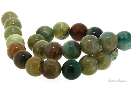 Fire Agate beads around 14mm