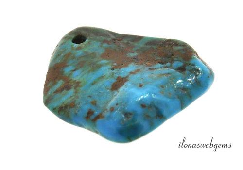 Arizona Turquoise pendant around 41x33x6mm