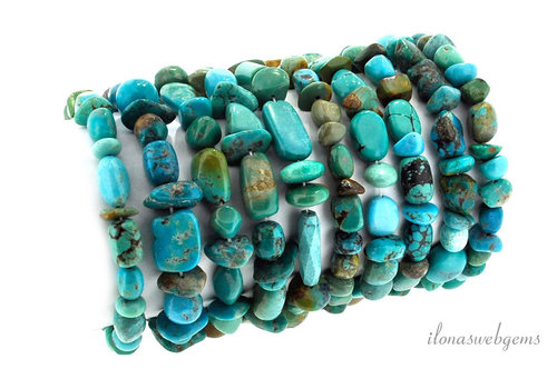Arizona Turquoise beads around 8-10mm