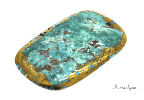 Arizona Turquoise pendant 80x45x5mm