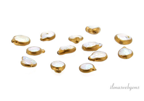 Coinpearl gold plated around 13.5x10mm
