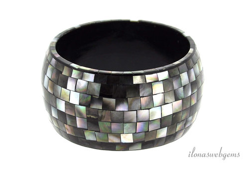 Abalone bracelet around 41x8mm