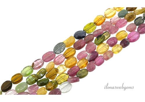 Turmalin Perlen oval um 6x5mm