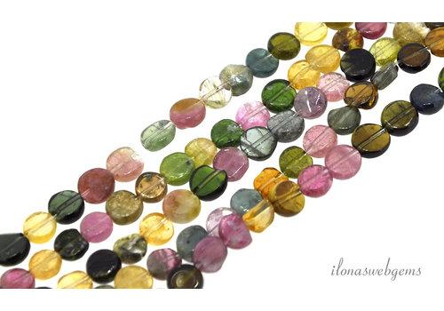 Tourmaline mini coins around 5.5x2.5mm