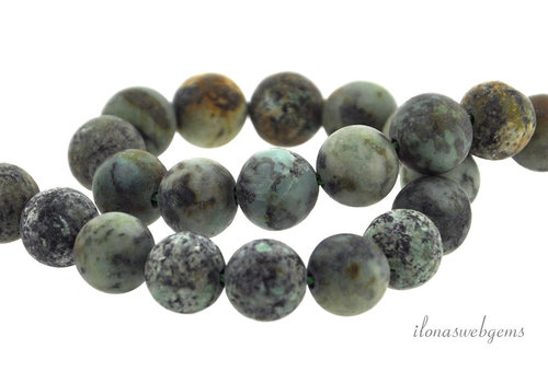 African Turquoise beads around ca. 8.5mm