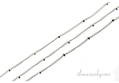 1 cm sterling silver links / chain 1mm