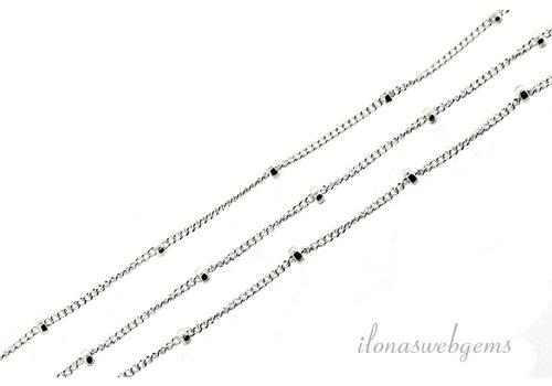 10cm sterling zilver schakels / ketting 1mm