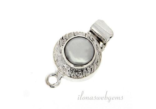 Backverschluss mit Perle um 14mm