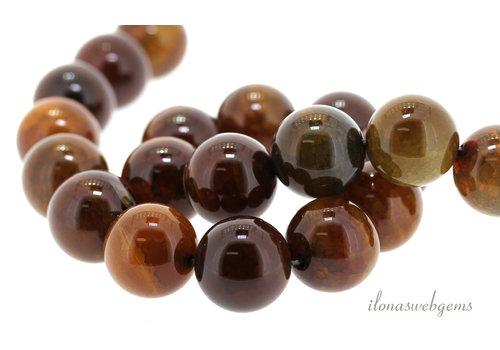Feuerachat Perlen um 20mm