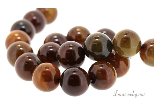 Fire Agate beads around 20mm