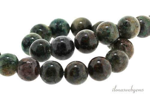 Chrysocolla beads around 12 mm