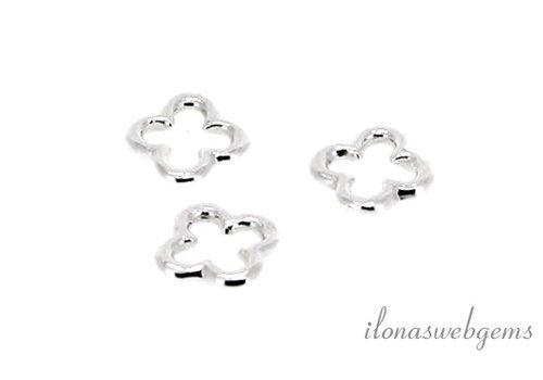 zilver bloemetje