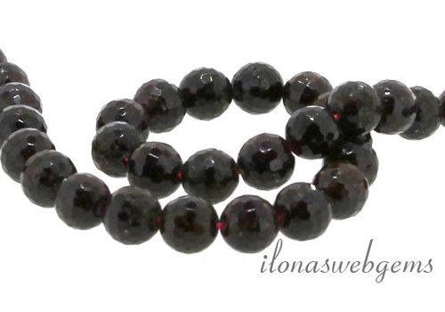 Garnet beads facet around ca. 8.5mm