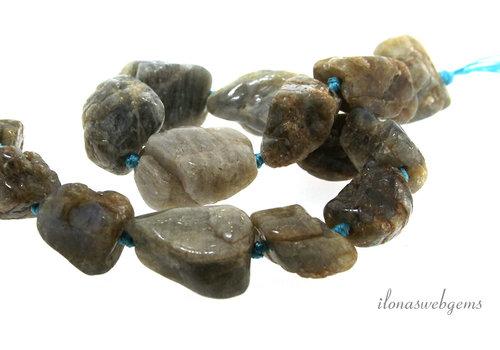 Labradorite beads around 27x18x14mm