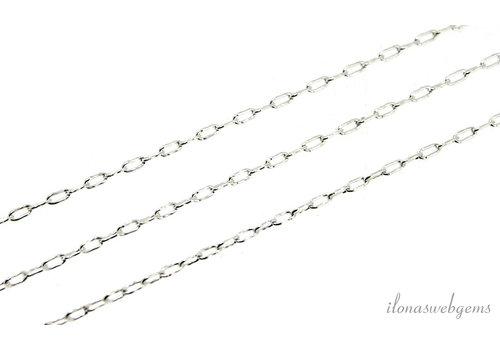 10 cm sterling zilveren schakels